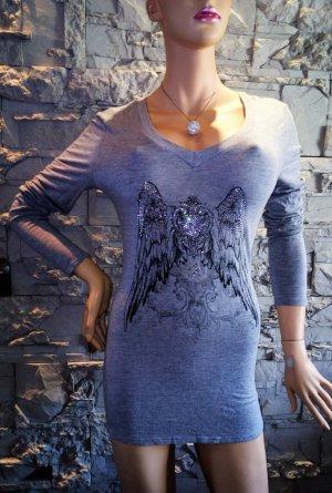 APART Tunika Bluse T Shirt in gr 42 Grau