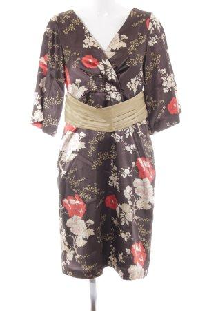 Apart Vestido tipo túnica estampado floral estilo extravagante