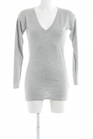 Apart V-Neck Sweater light grey casual look