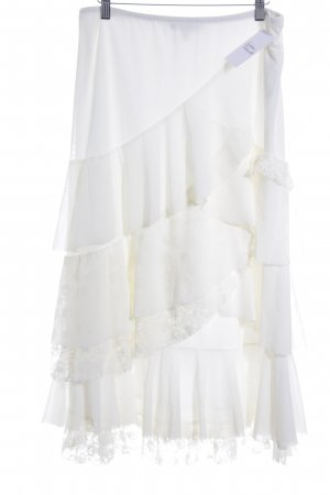 Apart Flounce Skirt natural white '20s style