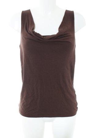 Apart Cowl-Neck Top brown casual look