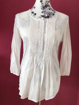 Apart Blusa a tunica bianco-bianco sporco Cotone