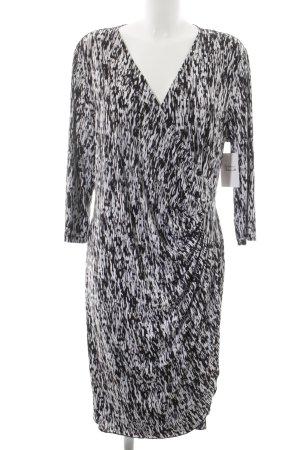 Apart Wraparound black-white abstract pattern romantic style