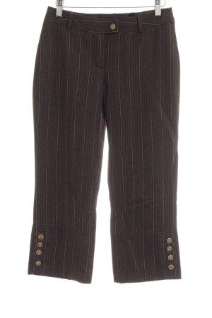 Apart Wollen broek gestreept patroon casual uitstraling