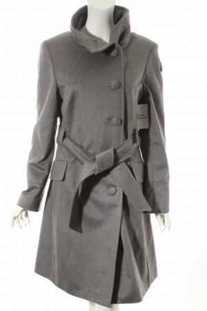Apart Wollmantel grau Street-Fashion-Look