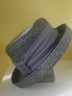Straw Hat slate-gray new wool