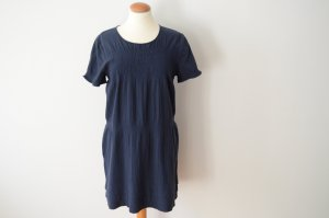 A.P.C. A Line Dress blue cotton