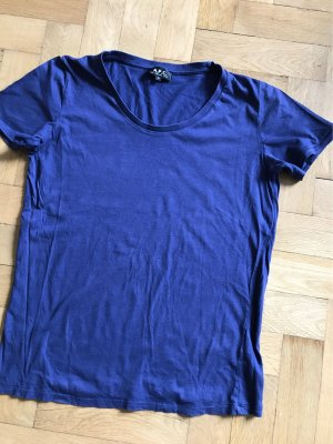A.P.C. T-Shirt dark blue