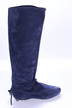Apepazza Wildlederstiefel dunkelblau