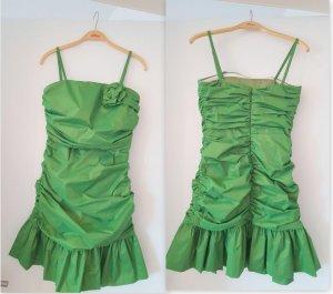 Apfelgrünes Minikleid