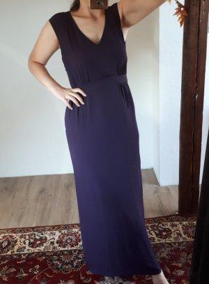 H&M Chiffon jurk donkerpaars