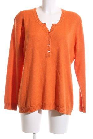 Appelrath-Cüpper Wool Sweater light orange casual look