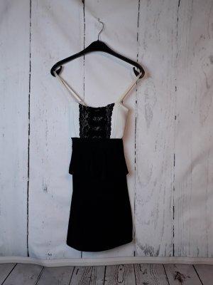 Appels Kleid - Gr. S - schwarz-weiß