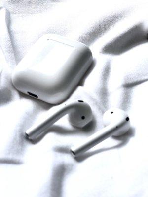Apple Airpods weiß neu