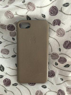 Apple Case | Leder | iPhone 7 / 8 | Taupe | Selten getragen