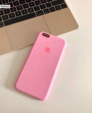 Apple iPhone 6 Plus Hülle rosa top Zustand