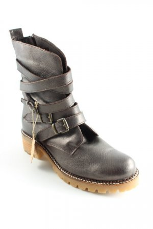 Apple of eden Booties dunkelbraun Casual-Look