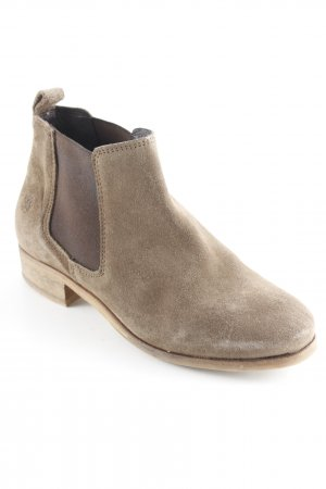 Apple of eden Chelsea Boots olive green-green grey casual look