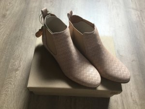 Apple of eden Chelsea Boots dusky pink leather