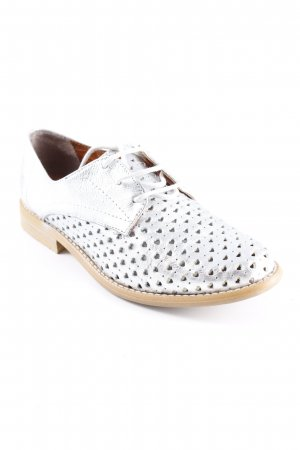 Apple of eden Scarpa Derby argento Herzmuster stile casual