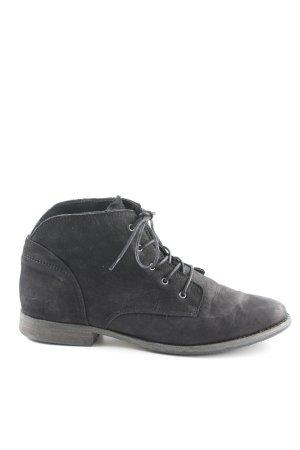 Apple of eden Desert Boots schwarz Casual-Look