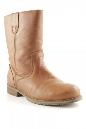 Apple of eden Halbstiefel hellbraun-braun Country-Look