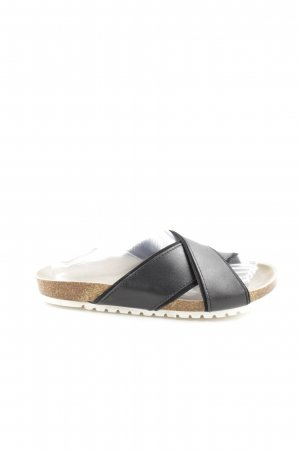 Apple of eden Komfort-Sandalen schwarz-nude Casual-Look