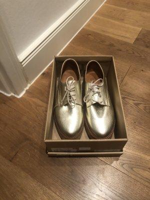 Apple of eden Chaussures à lacets doré