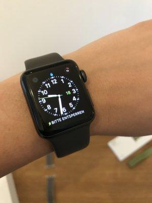 Horloge zwart-grijs