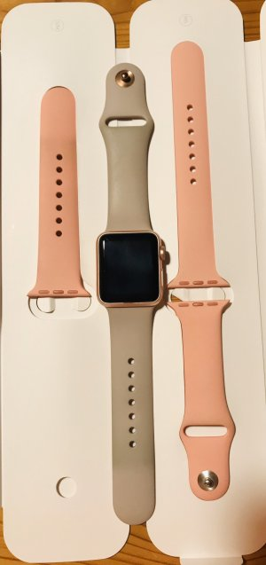 Digital Watch rose-gold-coloured