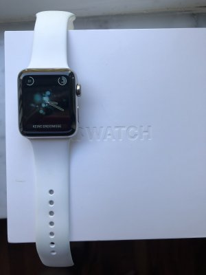 Digital Watch silver-colored