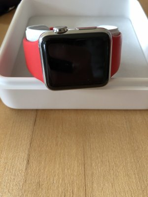 Apple Watch Series 1 - 38 MM - Stainless Steel RED