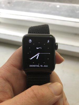 Montre numérique noir-gris anthracite