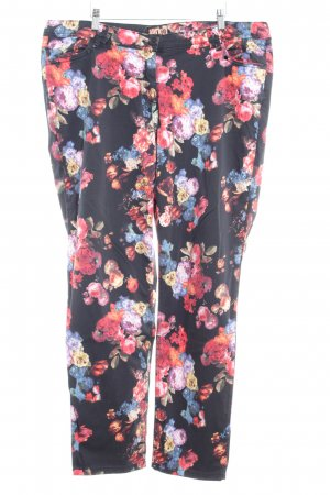 Aprico Strapped Trousers flower pattern casual look
