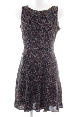 Apricot Babydoll Dress black-beige spot pattern casual look