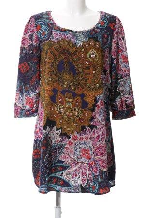 Apricot Robe chemisier motif abstrait style décontracté