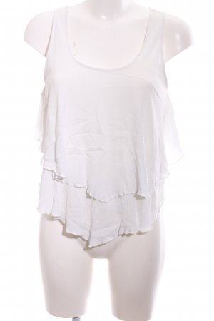 Apricot Blouse Top white business style