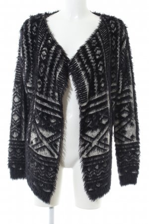 Apricot Cardigan black-white graphic pattern casual look