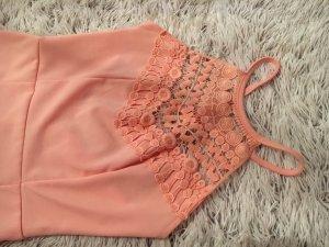Apricot Kleid