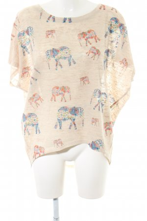 Apricot Oversized Shirt natural white allover print casual look