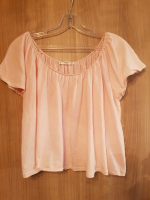 Mango Off the shoulder top rosé