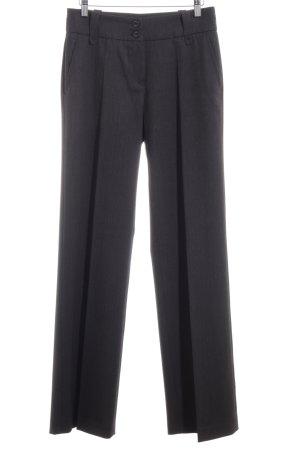 Apricot Stoffen broek zwart bruin-donkerbruin gestippeld Jaren 80 stijl