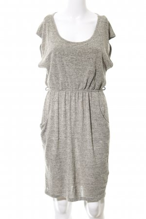 Apricot Knitted Dress grey brown-black flecked casual look