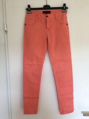Apricotfarbene Jeans Body & Soul