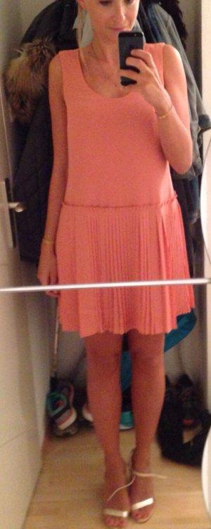 Apricotfarbenes, schwingendes Kleid von Banana Republic, Größe XS - NEU!
