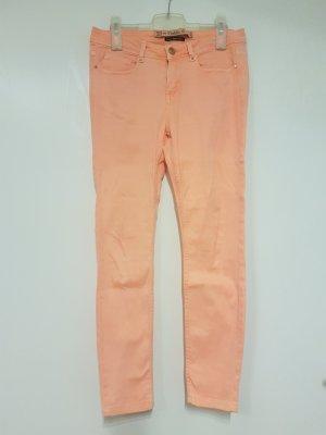 aprikotfarbene Jeans von ZARA