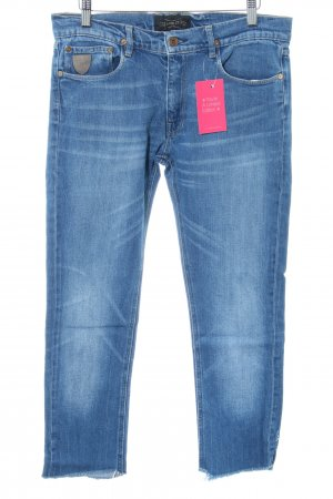 April 77 3/4-jeans blauw casual uitstraling