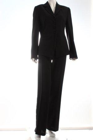 Apriori Hosenanzug schwarz klassischer Stil