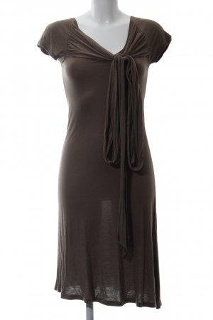 Apriori Jersey Dress brown business style