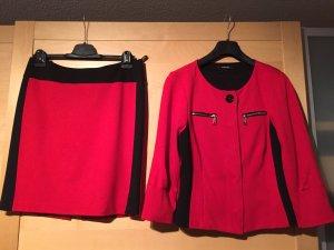 Apriori Kostüm rot-schwarz Gr 40